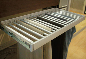 Trouser Rack With Slides